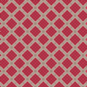 Lewis & Irene - Celtic Reflections - 5939 - Red & Silver Metallic Check - A338.2 - Cotton Fabric